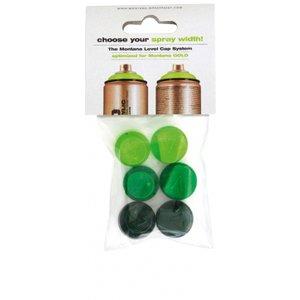 Billigtpyssel.se | Set med spraymunstycken Level 1-6 - 6-pack