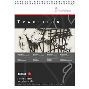 Billigtpyssel.se | SkissblockHahnemühle Sketch Tradition 100g