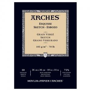 Billigtpyssel.se | Skisspapper Arches 105g - 26x36 cm