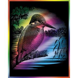 Billigtpyssel.se   Skrapfolie Rainbow - 305x229mm