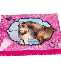 Billigtpyssel.se | Skrivset Horses Dreams - Rosa