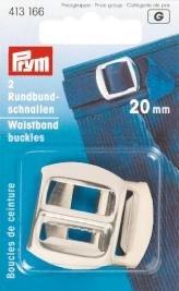Billigtpyssel.se | Sleifspännen stål silverfärg 20 mm 2 st