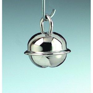 Billigtpyssel.se | Små runda bjällror 11 mm - silverfärgade 10-pack
