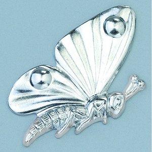 Billigtpyssel.se | Smycke 15 x 25 mm - silverfärgad fjäril