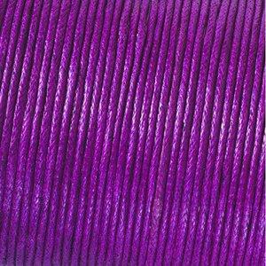 Billigtpyssel.se | Snöre vaxad bomull - aubergine
