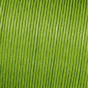 Billigtpyssel.se | Snöre vaxad bomull - grön