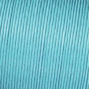 Billigtpyssel.se | Snöre vaxad bomull - ljusblå