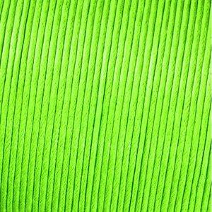 Billigtpyssel.se | Snöre vaxad bomull - ljusgrön