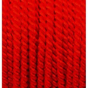 Billigtpyssel.se   Snöre viskos 4 mm - 25 meter - röd