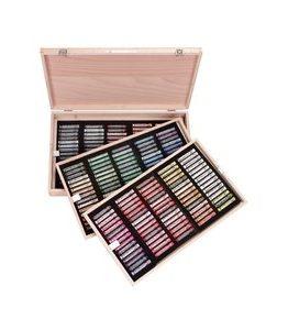 Billigtpyssel.se | Soft Pastel Excellent Box i träskrin - 225 st