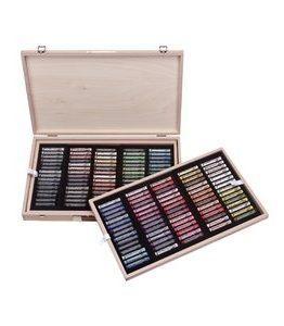 Billigtpyssel.se | Soft Pastel Master Box i träskrin - 150 st