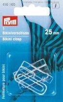 Billigtpyssel.se | Spännen för bikini/skärp ögla stål silverfärg 25 mm