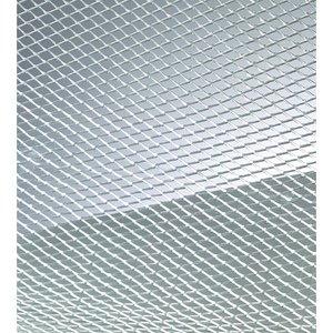 Billigtpyssel.se | Ståltrådsnät 4 x 6 mm / 40 x 100 cm - aluminium