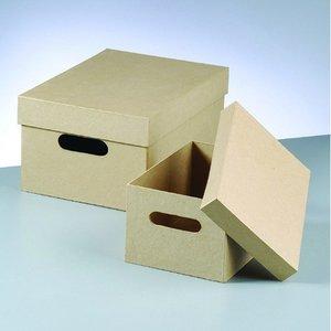 Billigtpyssel.se | Stapelbara lådor 35x25x17