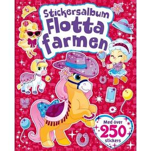 Billigtpyssel.se | Stickersalbum Flotta farmen
