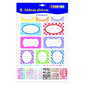 Billigtpyssel.se | Stickersblock Adersser - 90 st