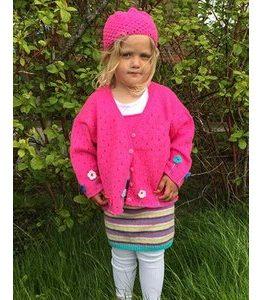 Billigtpyssel.se | Stickmönster - Barnset - kofta