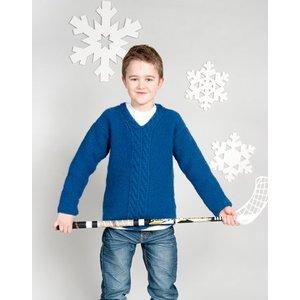 Billigtpyssel.se | Stickmönster - Barntröja