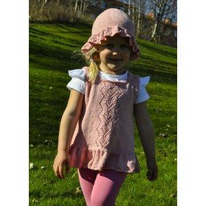 Billigtpyssel.se | Stickmönster - Barntunika med hatt