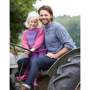 Billigtpyssel.se | Stickmönster - Basbeskrivning familj i Flox
