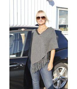 Billigtpyssel.se | Stickmönster - Halsduk med eller utan frans + Poncho