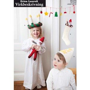 Billigtpyssel.se | Stickmönster - I väntan på julen