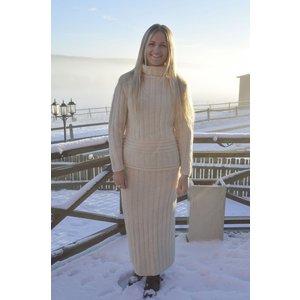Billigtpyssel.se | Stickmönster - Jumper och kjol