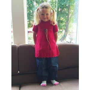 Billigtpyssel.se | Stickmönster - Klänning Eco baby ull