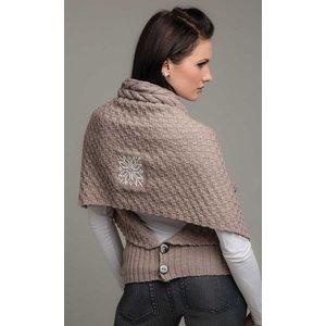 Billigtpyssel.se | Stickmönster - Kombi-sjal