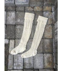 Billigtpyssel.se | Stickmönster - Långa stickade strumpor