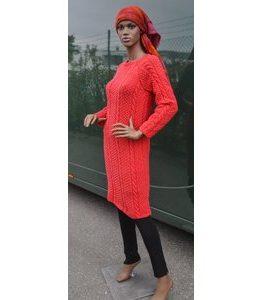 Billigtpyssel.se | Stickmönster - Långsmal klänning