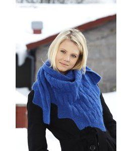 Billigtpyssel.se   Stickmönster - Mönsterstickad sjal