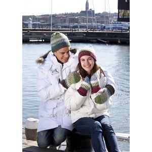 Billigtpyssel.se | Stickmönster - Mönsterstickade mössor och vantar