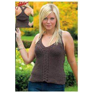 Billigtpyssel.se | Stickmönster - Mönsterstickat linne