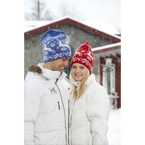 Billigtpyssel.se | Stickmönster - Mössa med hjorta