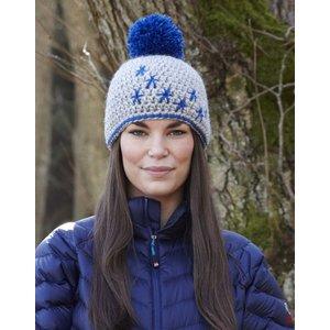 Billigtpyssel.se | Stickmönster - Mössa och vantar (vinter)