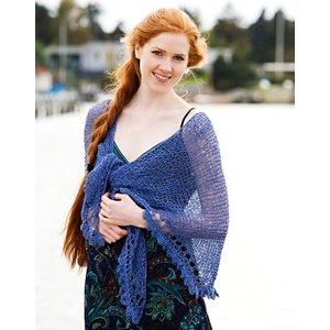 Billigtpyssel.se | Stickmönster - Rätstickad halsduk och sjal