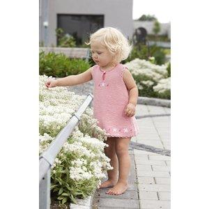 Billigtpyssel.se   Stickmönster - Rätstickad klänning och kofta