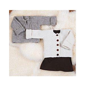 Billigtpyssel.se | Stickmönster - Rätstickad tröja och kofta