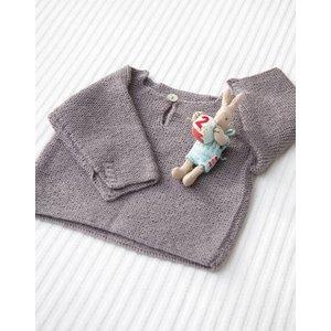 Billigtpyssel.se | Stickmönster - Rätstickad tröja