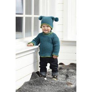 Billigtpyssel.se | Stickmönster - Resårstickad kofta och tröja och mössa