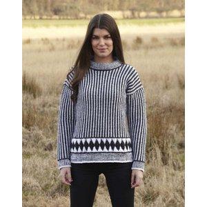 Billigtpyssel.se | Stickmönster - Rutmönstrad tröja (året runt)