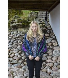 Billigtpyssel.se   Stickmönster Sjal - Höst & Vinter