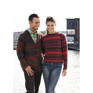 Billigtpyssel.se | Stickmönster - Slätstickade tröjor och koftor
