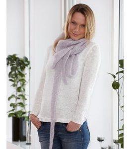 Billigtpyssel.se   Stickmönster - Stickad sjal