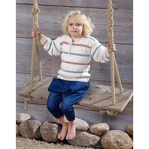 Billigtpyssel.se | Stickmönster - Stickade fiskartröjor för barn