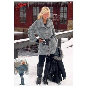 Billigtpyssel.se | Stickmönster - Stor kofta