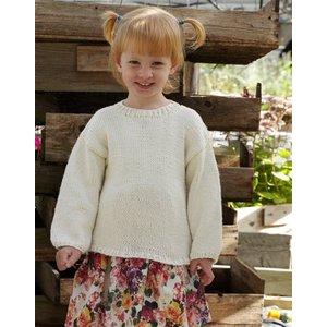 Billigtpyssel.se | Stickmönster Tröja - året runt (barn)
