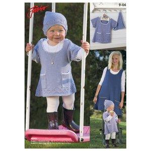 Billigtpyssel.se | Stickmönster - Västklänning & kortärmad klänning (alt1)