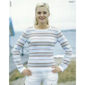 Billigtpyssel.se | Stickmönster - finrandig tröja